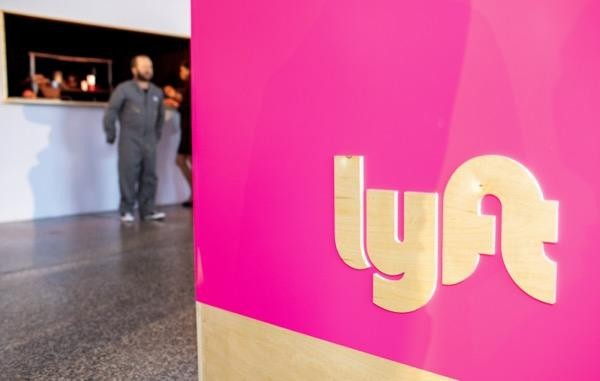 Lyft logo after Lyft IPO